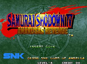 Samurai Shodown IV Neo Geo CD